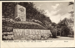 Cp Kyffhäuserland Thüringen, 60er Denkmal - Altri