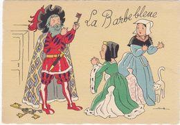 Les CONTES De Fées: La Barbe Bleue , Illustrateur  JACK, De  BARRE DAYEZ  N° 1489G - Autres Illustrateurs