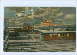 XX002980/ Hamburg Wilhelmsburg Bahnhof 1918 - Wilhemsburg