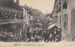 ESSONNES CAVALCADE Du 21 Aout 1910, Animée, Vue Pas Courante - Essonnes