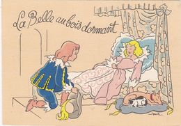 Les CONTES De Fées: La Belle Au Bois Dormant  : , Illustrateur  JACK, De  BARRE DAYEZ  N° 1489B - Autres Illustrateurs