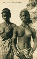 14344 - AFRIQUE    JEUNES FEMMES MALDINGUES    SEINS NUS - French Congo - Other
