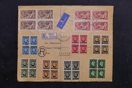 MAROC - Enveloppe En Recommandé De Mazagan Pour La France En 1937, Affranchissement Recto / Verso Plaisant - L 68339 - Morocco Agencies / Tangier (...-1958)
