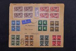 MAROC - Enveloppe En Recommandé De Mazagan Pour La France En 1937, Affranchissement Recto / Verso Plaisant - L 68342 - Morocco Agencies / Tangier (...-1958)