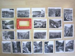 83 - LES GORGES DU VERDON (GRAND CANON) - POCHETTE DE 20 PHOTOS DE 9 X 6,5 CM - Comps-sur-Artuby