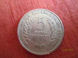 Burundi: 5 Franc 1968 - Burundi