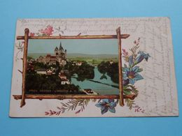 PROV. HESSEN : LIMBURG A.D. LAHN, SCHLOSS & DOM () Anno 1904 ( Detail > See / Voir Photo ) - Limburg