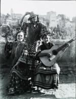 Espagne  Granada 1900   Reproduction Tipos Gitanos  Guitare - Dance