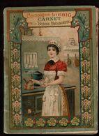 1896 - Compagnie LIEBIG - Carnet De La Bonne Ménagère - Nombreuses Recettes - 80 Pages - 5 Scans - Werbung