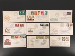 Niederlande Jahrgang 1964 MiNr. 817-35 Ersttagsbriefe/ FDC (O285 - Netherlands