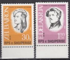 ALBANIEN 2354-2355, Postfrisch **, Bedeutende Persönlichkeiten, 1988 - Albanien