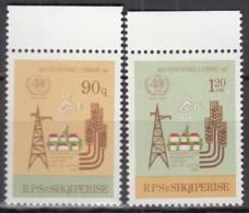 ALBANIEN 2356-2357, Postfrisch **, 40 Jahre Weltgesundheitsorganisation (WHO), 1988 - Albanien