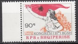ALBANIEN 2361, Postfrisch **, Kongress Des Albanischen Frauenverbandes, 1988 - Albanien