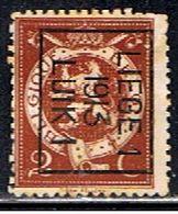 BELGIQUE  1678 // YVERT 109  TYPOS 13 // 1912-13 - Vorfrankiert