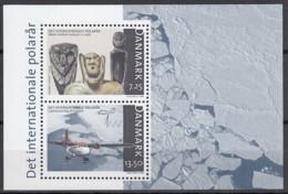 DÄNEMARK Block 29, Postfrisch **, Internationales Polarjahr, 2007 - Blocks & Sheetlets