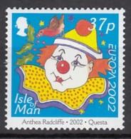 ISLE OF MAN 1026, Postfrisch **, Europa : Clown 2002 - Isle Of Man