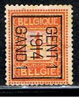 BELGIQUE  1680 // YVERT 108  TYPOS 14 // 1912-13 - Vorfrankiert