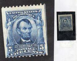ETATS UNIS  - Abraham Lincoln YT N° 148 B  (rare) - Unused Stamps