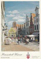 Postcard Hansestadt Wismar Kramerstrasse My Ref B24447 - Wismar