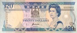Fiji 20 Dollars, P-95 (1992) - UNC - Fiji