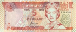 Fiji 5 Dollars, P-97 (1995) - Extremely Fine - Fiji