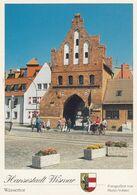 Postcard Hansestadt Wismar Wassertor My Ref B24449 - Wismar