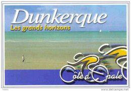 Carte Postale 59. Dunkerque Malo-les-bains Tour De France  Vélo  Bicyclette   Trés Beau Plan - Dunkerque