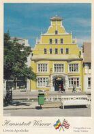 Postcard Hansestadt Wismar Lowen Apotheke My Ref B24450 - Wismar