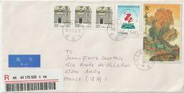 Chine. China 2008 . Recommandé Pour La France; - 1949 - ... République Populaire