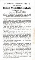 Halluin, Middelkerke: 1957, Ernest Meerseman, Potié - Imágenes Religiosas