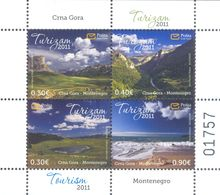 2011 Tourism, Carnet, Montenegro, MNH - Montenegro