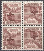 HELVETIA - SUISSE - SVIZZERA - 1939 - Yvert 348a, Coppia Tête-bêche Uniti Fra Loro, Nuovi MNH, Come Da Immagine. - Tete Beche