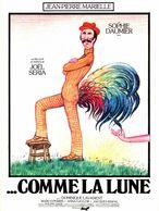 Aff Ciné ...COMME LA LUNE (1977) 120X160 JeanPierre Marielle Sophie Daumier - Affiches & Posters