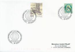 Cachet Expédition Jean-Louis Etienne - Longyearbyen Du 15/04/2010 Sur Timbres Norvège N°1198 Et 1446 - Forschungsprogramme