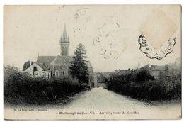 CHATEAUGIRON  35  L'arrivée Route De Venéfle En 1923 - Châteaugiron