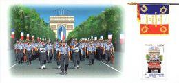 """"""" 200 ANS DES SAPEURS POMPIERS DE PARIS / DEFILE DU 14 JUILLET """" Sur Bloc Souvenir De 2011 N°YT BS 61 Parfait état - Pompieri"""