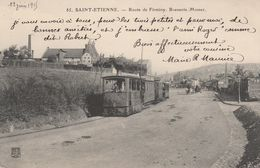 42 - SAINT ETIENNE - Route De Firminy. Brasserie Mosser - Saint Etienne