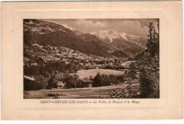 4RY 412. SAINT GERVAIS LES BAINS - LE VALLEE DE MONJOIE ET LE MIAGE - Saint-Gervais-les-Bains