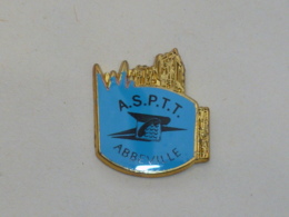 Pin's A.S.P.T.T. ABBEVILLE - Pin's