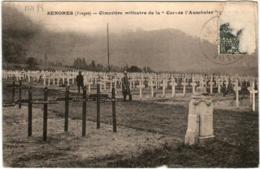 41hth 350 CPA - SENONES - CIMETIERE MILITAIRE - Senones