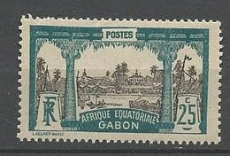 GABON  N° 84 NEUF* LEGERE TRACE DE CHARNIERE / MH - Unused Stamps