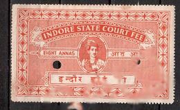 Indian Principalities Service Principality Of Indore Anna - Ohne Zuordnung