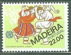 Madeira Portugal 1981 Michel MNH Ethnography Dance Europe CERT SEPT - Madeira