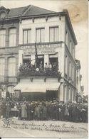 ATH - Café De La Nation - Grand'Place - Ligue Vélocipède Belge - RARE -  1913 - Voir Scans - Ath