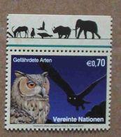 Vi13-01 : Nations-Unies (Vienne) / Protection De La Nature - Grand-duc Ascalaphe Ou Grand-duc Du Désert - Vienna – International Centre