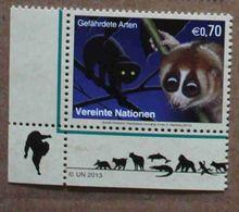 Vi13-01 : Nations-Unies (Vienne) / Protection De La Nature - Loris Paresseux (Nycticebus Coucang) - Vienna – International Centre