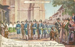 SUISSE - 1803 - 1903 - ASSERMENTATION DU GRAND CONSEIL  - CPA PRECURSEUR - Non Classificati
