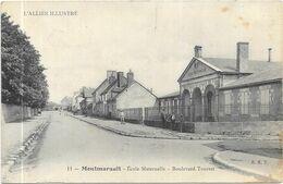 MONTMARAULT : ECOLE MATERNELLE - BOULEVARD TOURRET - France