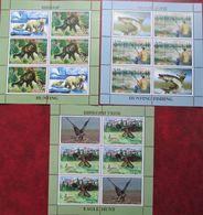 Tajikistan    2020  Hunting And Fishing   3 M/S Perfor.   MNH - Tajikistan
