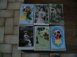 Lot De 1200 Cartes Postales De Fantaisies - 500 CP Min.